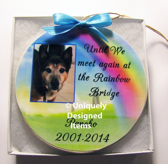 Pet Memorial Memorial ornament Christmas ornament Dog Memorial Pet ornament ornament dog ornament pet memorial gift pet loss gift