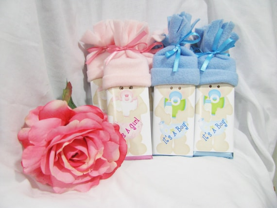 Team Boy Team Girl Gender Reveal Party Favors
