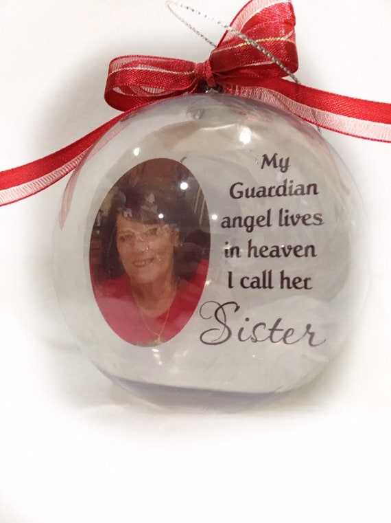 Memorial Ornament, Christmas Ornament, Loss of Sister, Loss of Brother, Loss of Mom, Loss of Dad, Gift for Her, Gift for Him