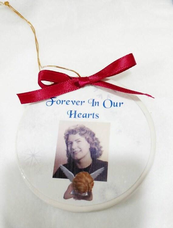 Heaven ornament - Christmas ornament - In Memory of - Memorial Ornament - Memorial Gift- Sympathy Gift