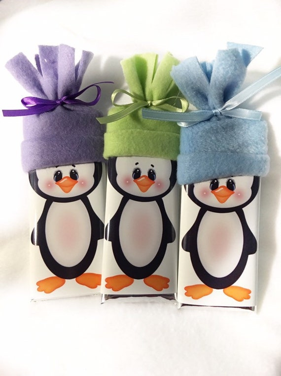 Stocking Stuffer - Stocking Stuffers - Christmas Gift - Gift - Personalized - Penguin Gift Chocolate - Gifts under 15