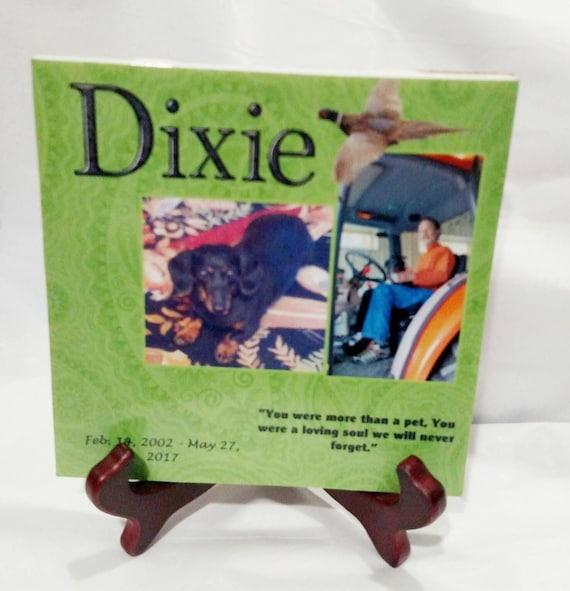 Pet Memorial Plaque, Personalized Pet Memorial, Pet Loss, Dog Memorial, Cat Memorial, Gift for Women, Gift for Men