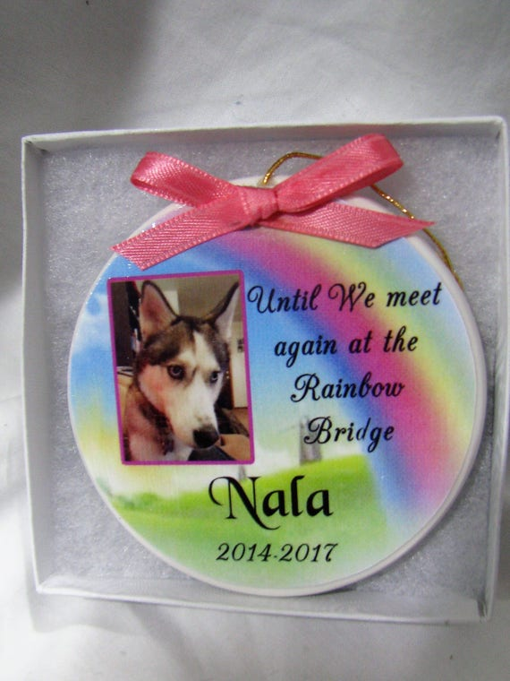 Pet Memorial Pet Ornament Pet Ornament Christmas Ornament Personalized Memorial Forever In Our Heart