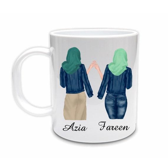 Eid Gift, Personalized Gift, Ceramic Mug, Ramadan, Gift for Sister