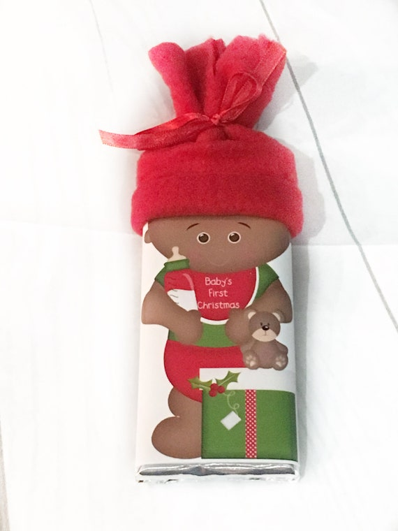 African American Baby Stocking Stuffer Personalized First Christmas Baby's First Christmas Gift for Her