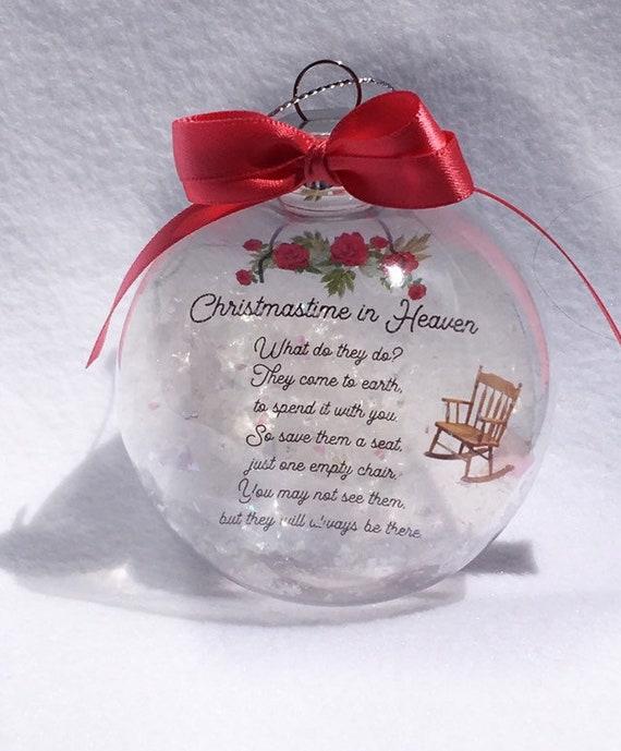 Personalized Christmas Memorial Ornament