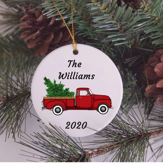Personalized Family Christmas Ornaments, Christmas, Gift for Family