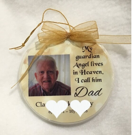 Memorial Ornament - Christmas Ornament - Custom Ornament - Loss of Loved One - In Memory of Ornament