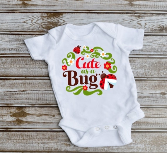 Ladybug Baby Bodysuit, Baby Shower, New Baby Gift