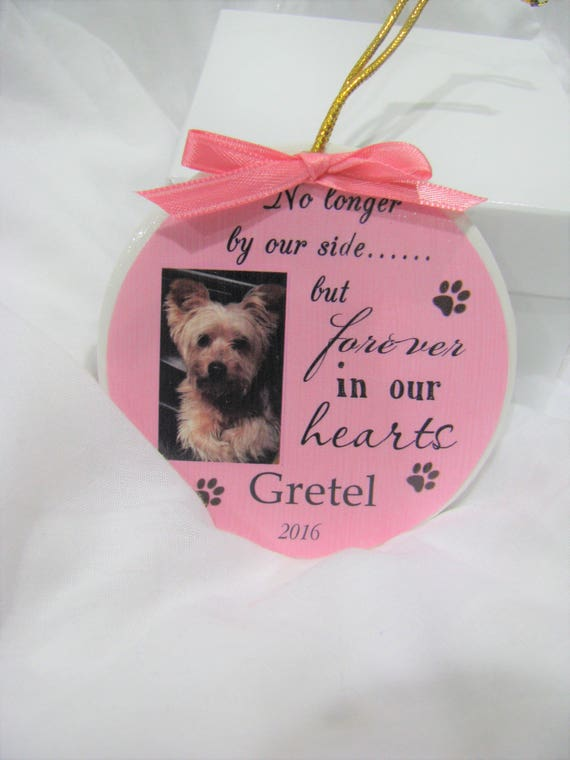 Pet memorial Christmas ornament Pet Ornament Dog Ornament Pet Loss Cat Memorial