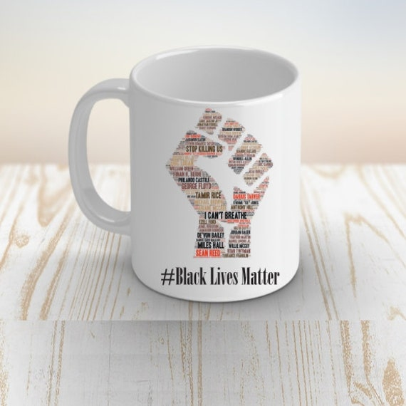African American, Black Lives Matter Coffee Mug, Equality