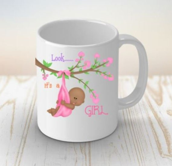 Baby Shower Gift Coffee Mug New Mom Gift It's A Boy New Mom