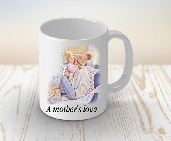 Mom Mug for New Mom, New Baby Gift, Coffee Mug, Baby Shower Gift, Mother's Day, Birthday, Gift for Mothers, Gift for Mom