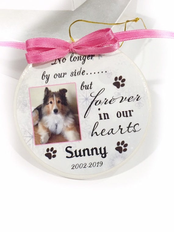 Personalized Pet Memorial Ornament, Christmas Gift, Family Gift, Gift for her, Dog Memorial, Cat Memorial