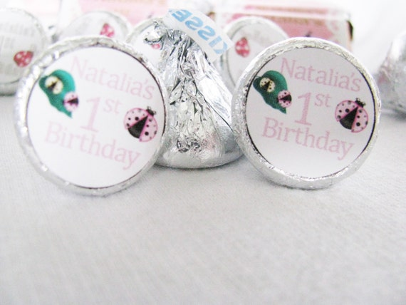 Personalized Hershey kisses for baby shower favors or any event you are having!
