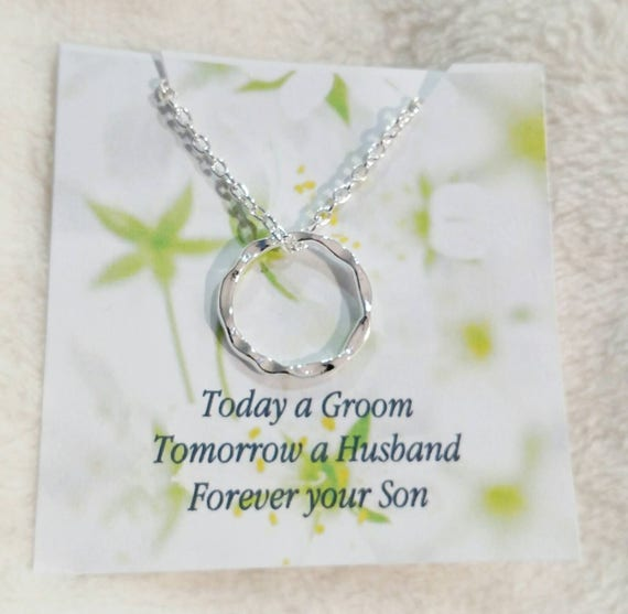 Mother of the groom- wedding jewelry-mother in law gift- necklace