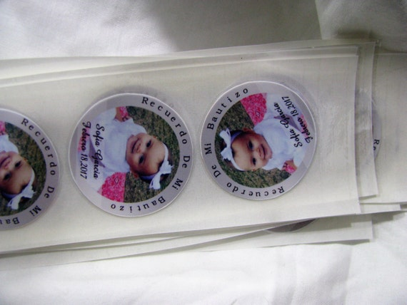 Custom stickers Stickers Personalized Wedding Favors Baptism Favors