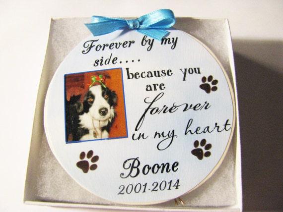 Personalized Pet Memorial Ornament, Pet Loss Gift, Christmas Gift, Gift for Women, Gift for Men, Family Gift