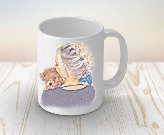 Dog Lover Gift, Dog Mug, Christmas Gift, Gift for her, Gift for Girlfriend, Gift for Mom, Gift for Wife
