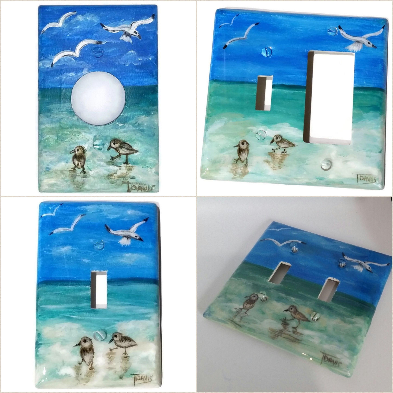 Flip Flops Decorative Outlet Plate Cover