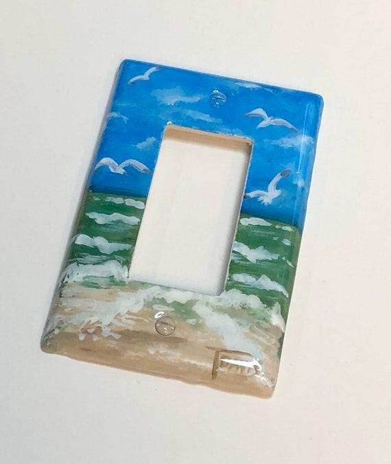 Surfboards Beach Light Switch Covers Beach Home Decor Outlet