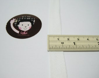 Twill Tape 100/% Cotton in Different Color from Indian Accent Off White, 1//2 Inches 50 Yard