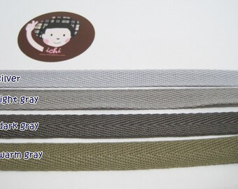20 mtr x 15mm wide Choice of Design Christmas Herringbone Twill Ribbon 2 5