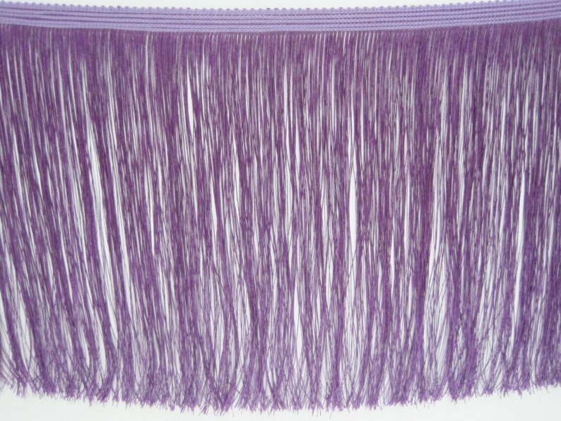 Purple Trim Chainette trim purple tassel violet fringe Fringe tassel trim purple tassel trim 1 Yard 4 to 10 Violet Chainette Fringe