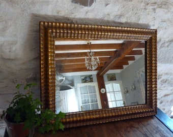 24cd1ed2d1a3 1840 Louis-Philippe - French Antique Mirror - Mirror - real gilding