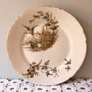 Vintage Mismatched China Dinner Plates Set of 4 Cottage Chic Wedding plates Holiday Table Bridal Luncheon Shabby Chic China 3072