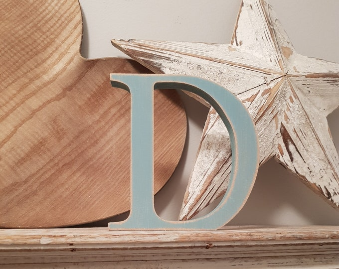 Wooden Letter '&' -  30cm x 18mm - Georgian Font - various finishes, standing