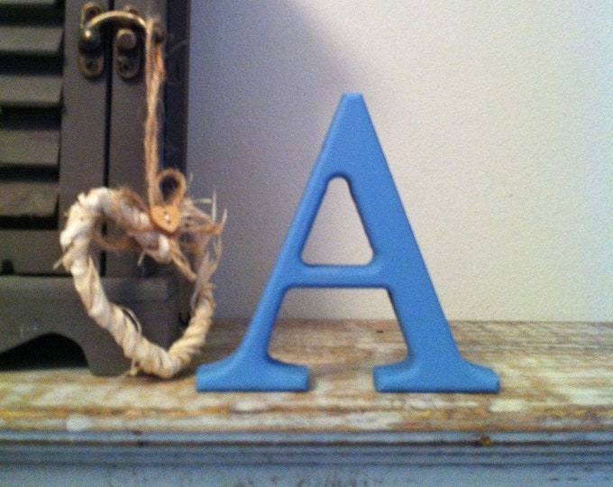 Wooden Letter 'A' -  30cm - Georgian Font - various finishes, standing