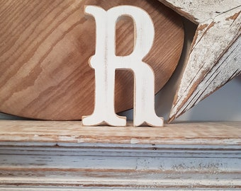 Painted Wooden Letter - Large Letter R,  Circus Font, 30cm, any colour, wall letter, wall decor, 18mm
