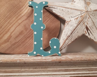 Painted Wooden Letter - Large L, Circus Font, 30cm high, any colour, wall letter, wall decor, 18mm