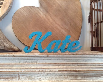 Personalised Wooden Name Sign - For Doors, Walls, Etc - Price per letter