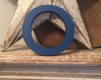Wooden Letter O - 30cm x 18mm, Freestanding - Rockwell Font - Various sizes, finishes and colours