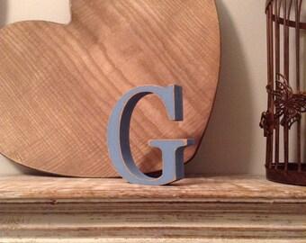 Wooden Letter 'G' - 15cm - Georgian Font - various finishes