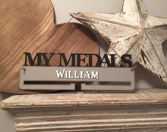 My Medals Sign, Hanger, Hanging Sign - Various Colours available!