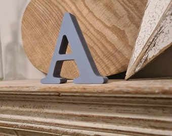 Wooden Letter A – Personalised Name Letter – Nursery Decoration Ideas – Rustic Room Décor –  Cherokee Style A – Decorative Wooden Sign