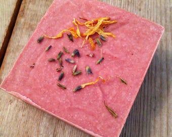 Refreshing Sea Salt Soap - Spa Soap - Essential oil blend - Vegan - Beautiful lather - Orange - Grapefruit - Lavender essential oil