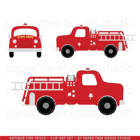 fire truck clip art fire station clip art vintage fire etsy rh etsy com fire truck clip art free download fire truck clipart png