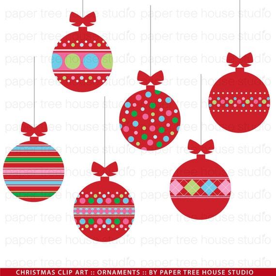 Christmas Ornament Clip Art.Christmas Ornament Clip Art Red Christmas Ornaments Christmas Ornament Digital Download Christmas Tree Ornament Png Jpg Digital Stamp