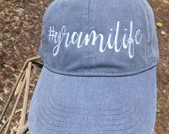 d7d8950904f Nenelife Embroidered Baseball Cap Gift cute font grandma