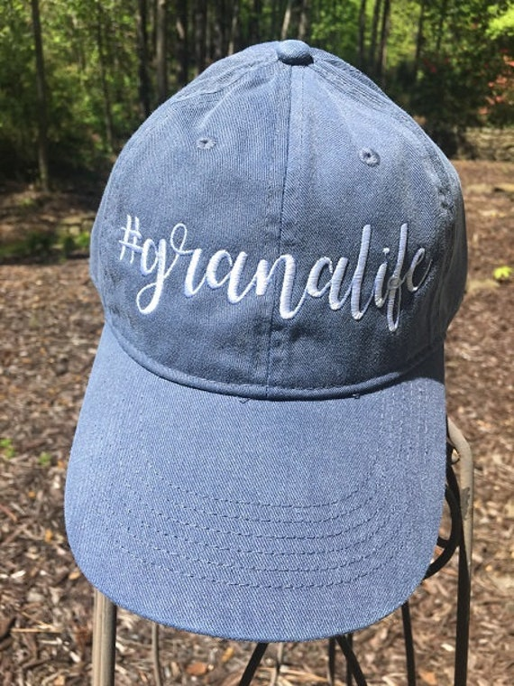 81d5dfd6d41 Granalife Embroidered Baseball Cap Gift cute font grandma