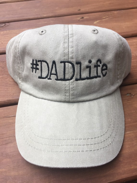 026d17d69f1 Dad life baseball hat Monogram Ball Cap Monogram Hat