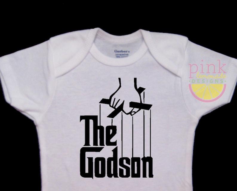1f533c7a4 The Godson Funny Onesie Bodysuit | Etsy