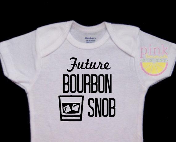 Bodysuit Future Bourbon Snob Baby Onesie