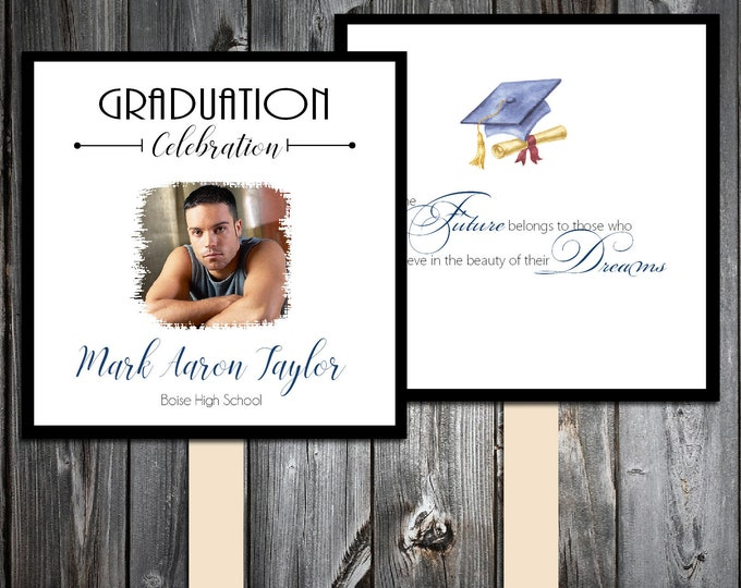 Graduation Fans Kit -  Printing Included.