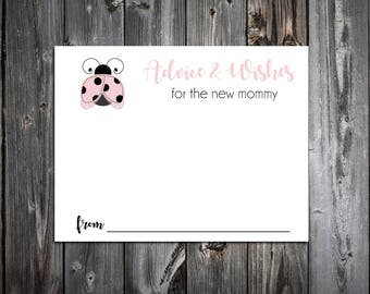 25 Pink Ladybug Baby Shower Advice and Wishes