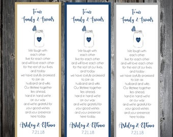 100 Mason Jar with Butterfly Wedding Bookmarks Favor